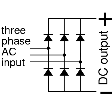 tridge rectifier, wiring diagram